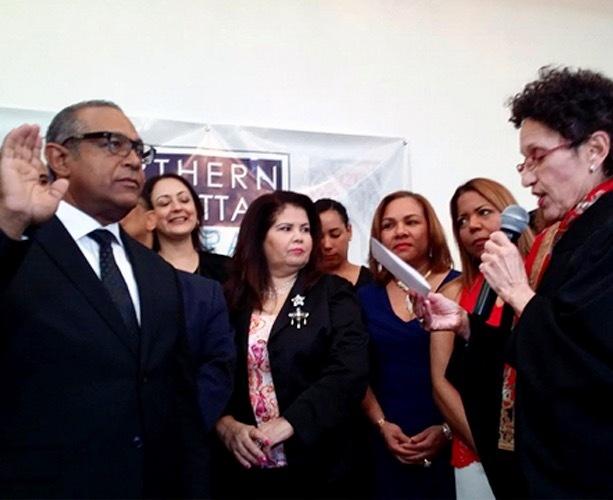 Vargas juramenta como nuevo presidente