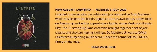 DeMontford Uni Jazz band New Releases E-BlastEDIT