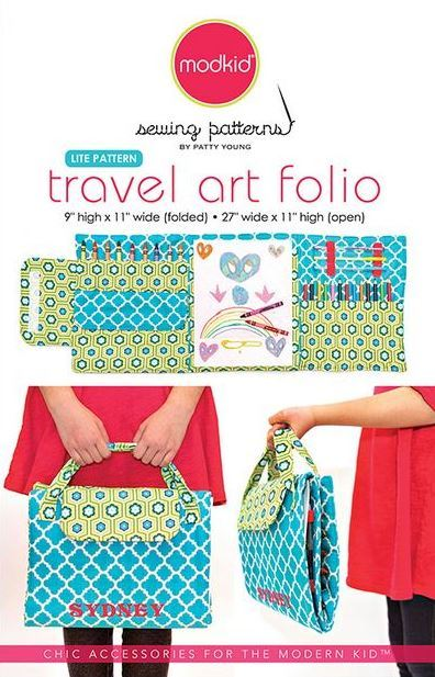 hawthorne threads- travel art folio