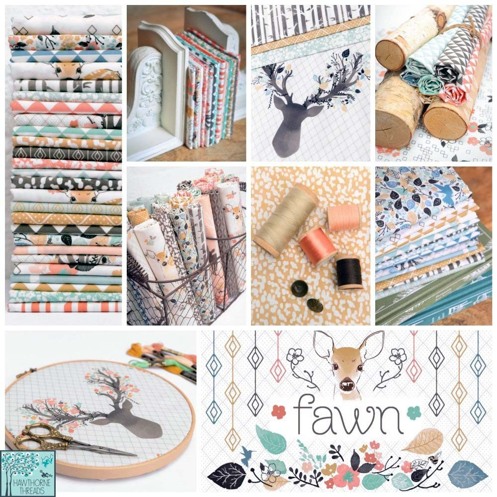 Fawn Fabric Posterb