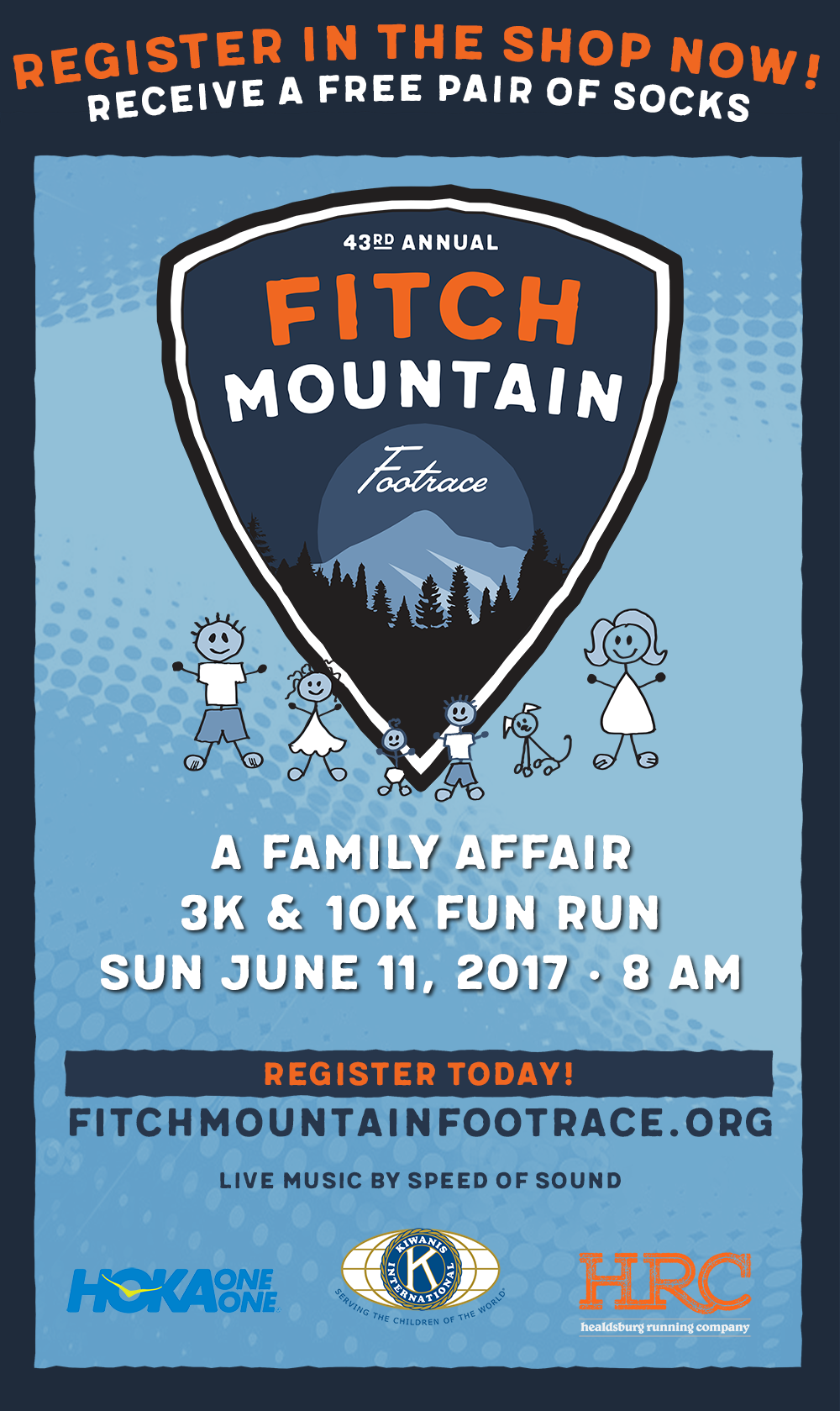 fitch mountain poster 2017 newsletter