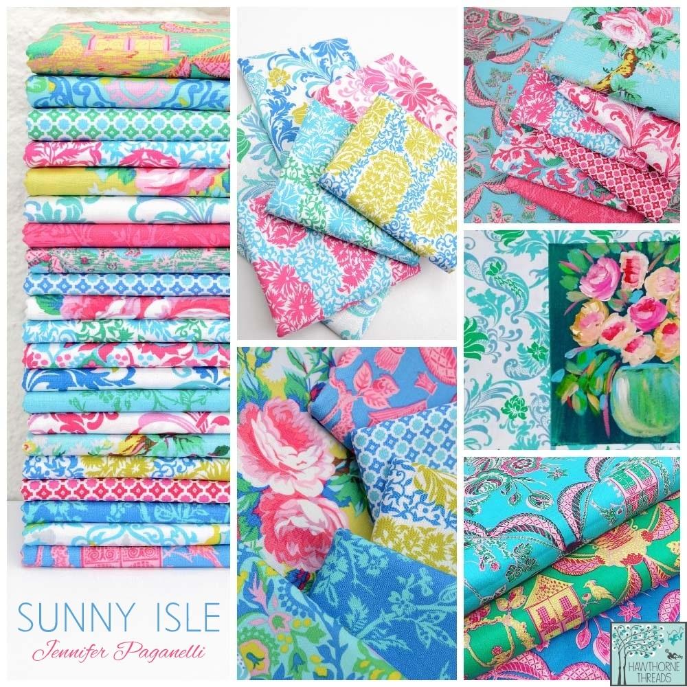 Sunny Isle Fabric Poster