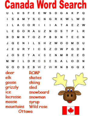 canadawordsearch