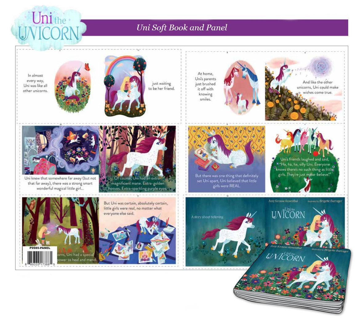 Uni-the-Unicorn-fabric-book-panel