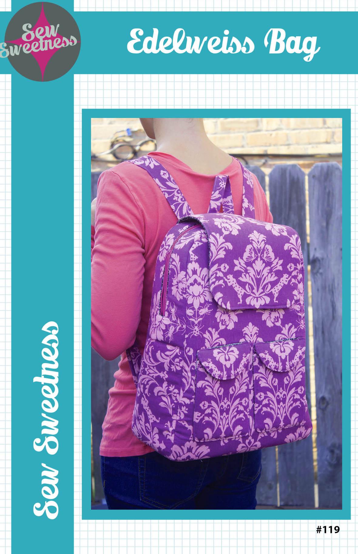 sew sweetness  edelweiss bag sewing pattern