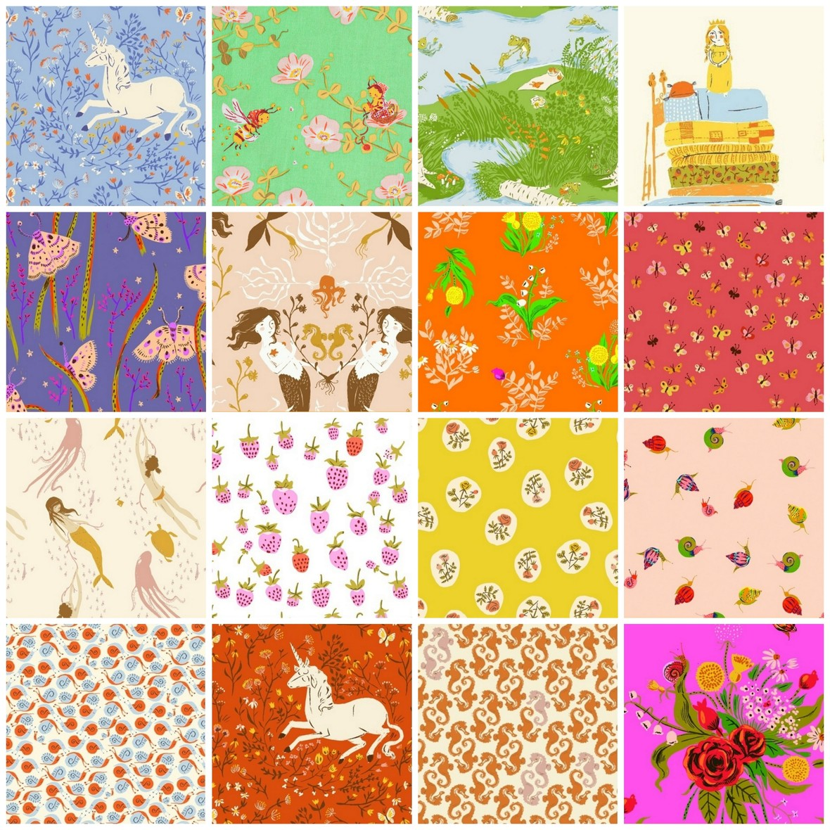 Heather Ross 20th Anniversary fabric back in stock