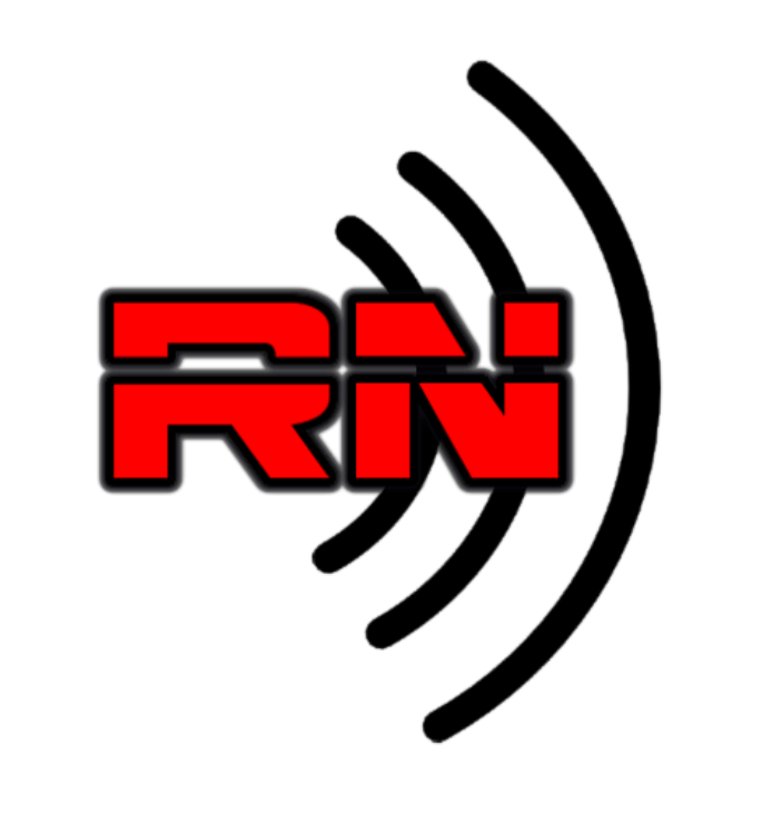 RN - Rated NEXT Radio Network logo Black HD102050 small cropped