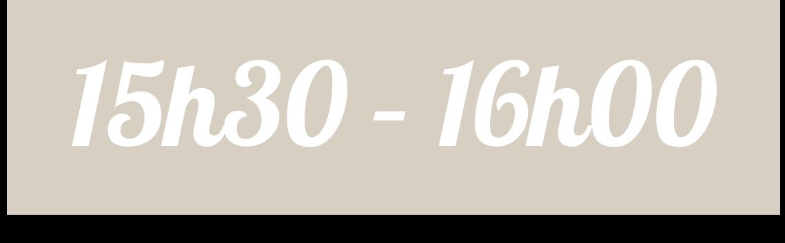 15h30 16h00 1