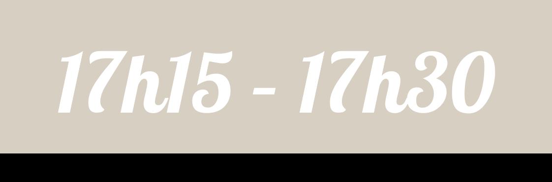 17h15 17h30 1