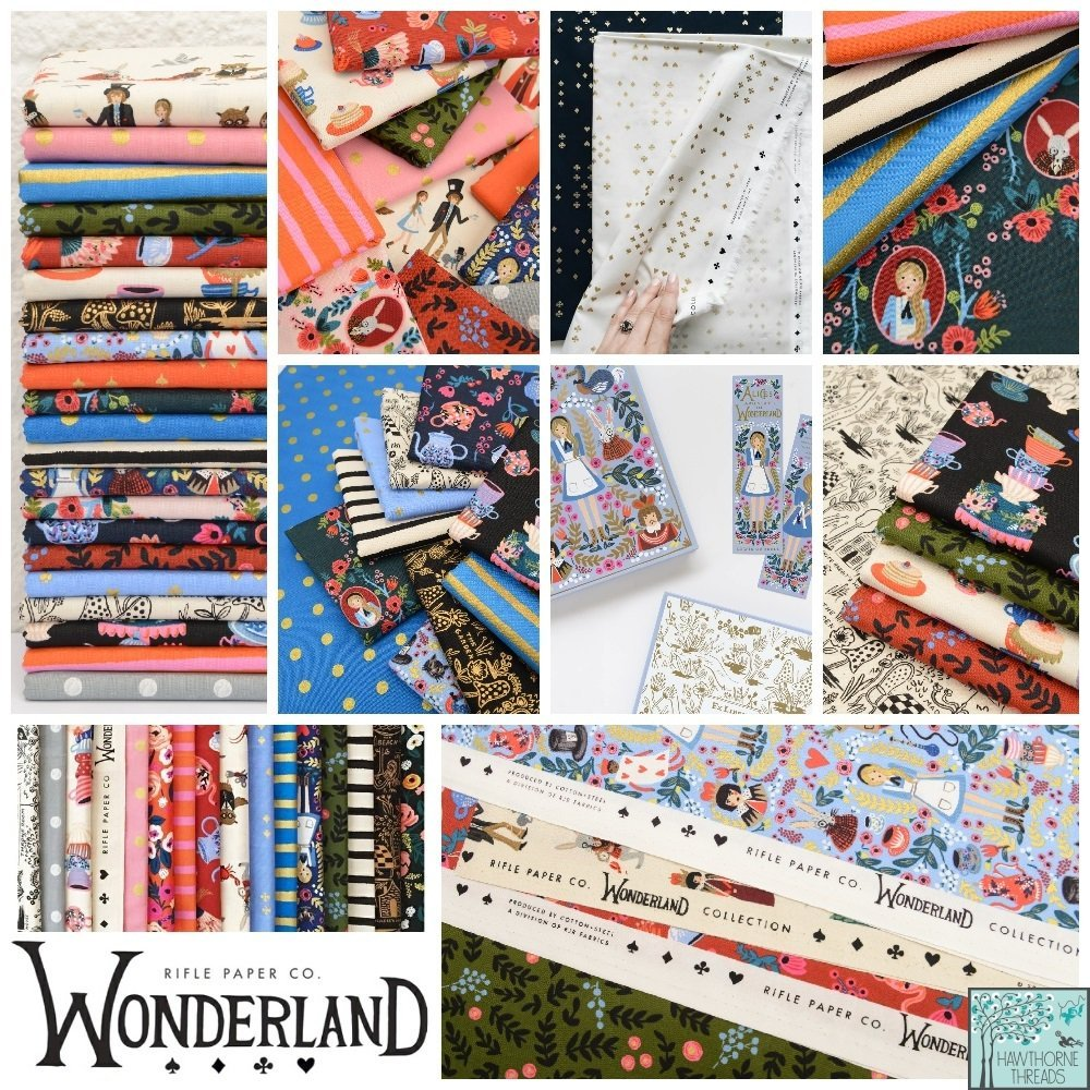 Wonderland Rifle Paper Co Fabric