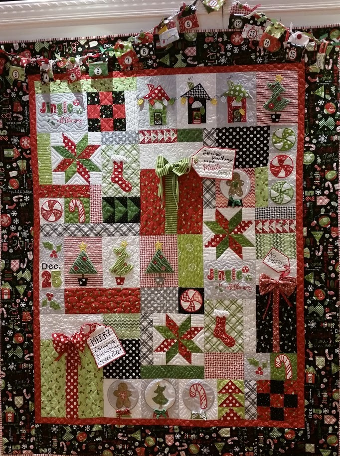 Jingle all the way quilt