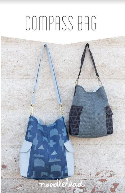 noodlehead compass bag sewing pattern