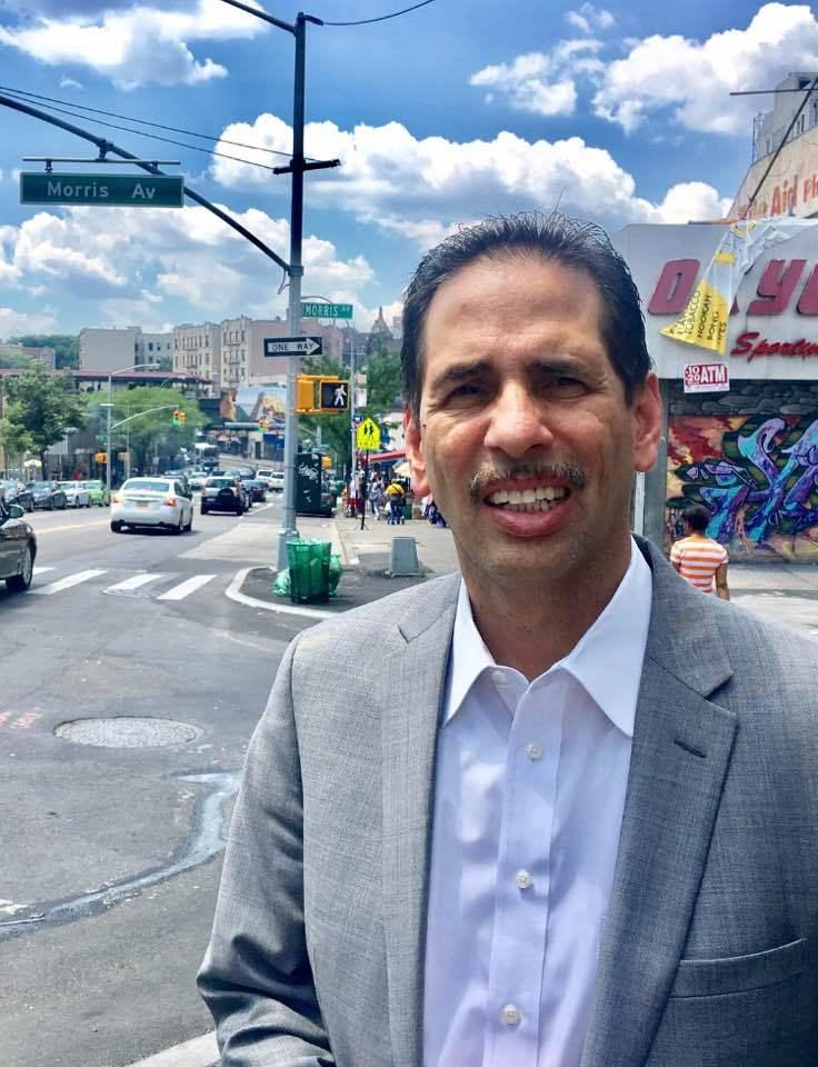 """Concejal Fernando Cabrera dice: """"Lo mejor para el Bronx está por venir muy pronto"""""""