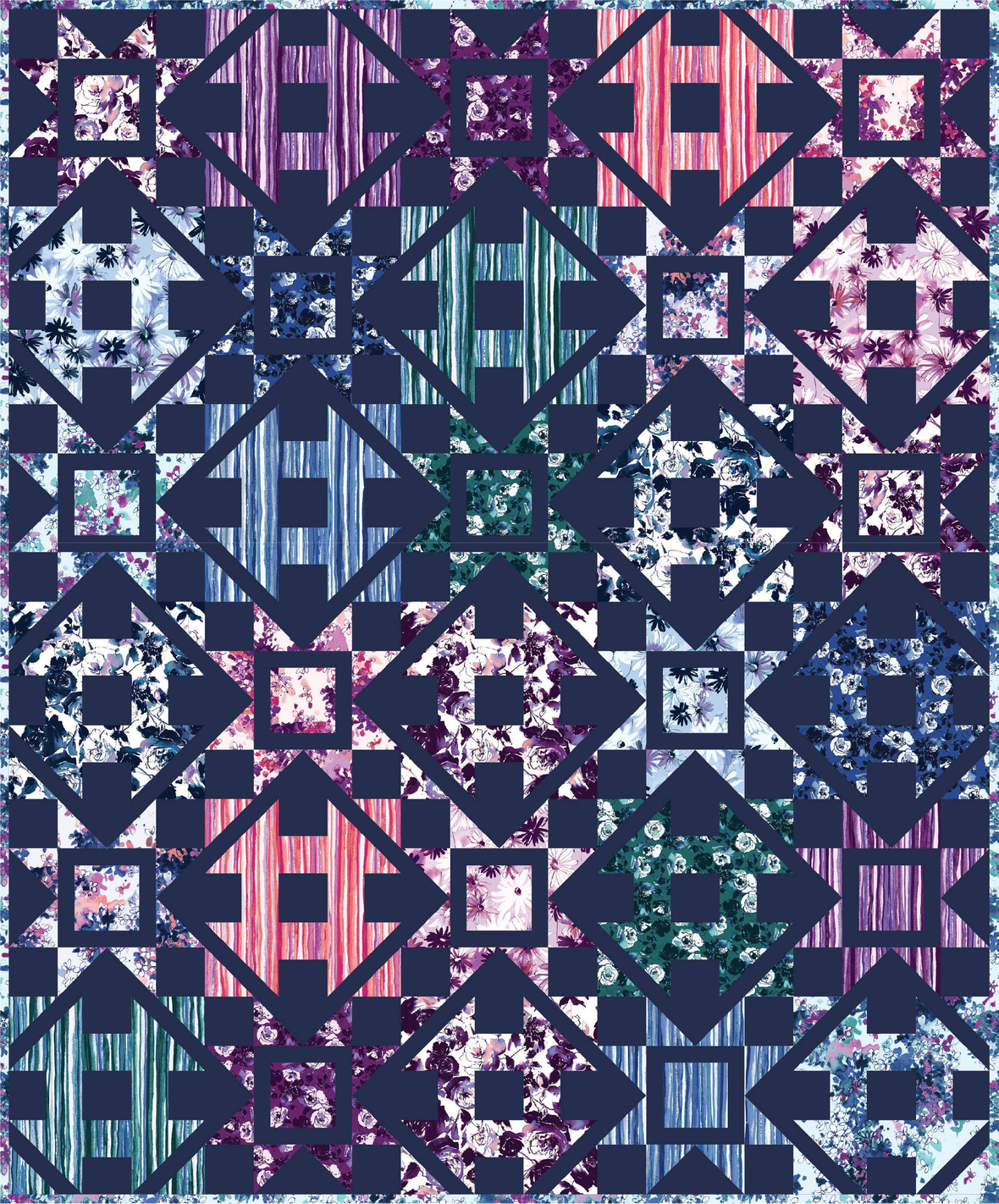 Dashing by Coriander Quilts j