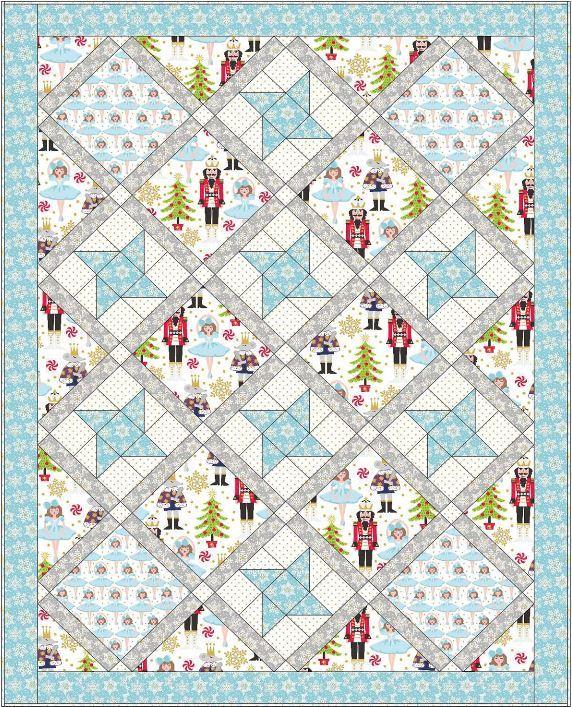 blend-free quilt pattern