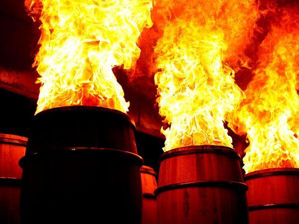barrel red
