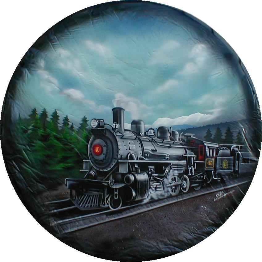 train tire cover