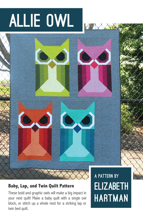 elizabeth hartman allie owl sewing pattern