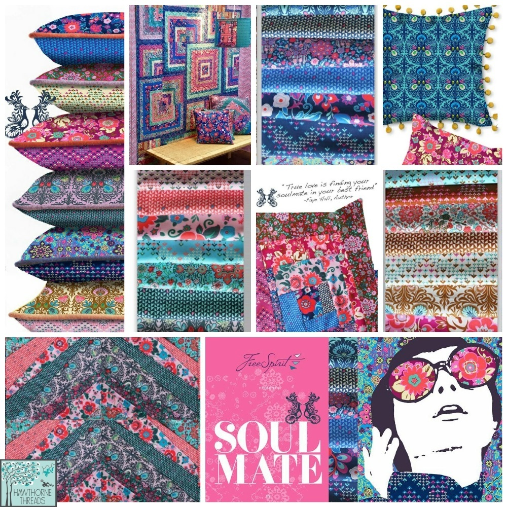 Amy Butler Soul Mate Fabric Poster