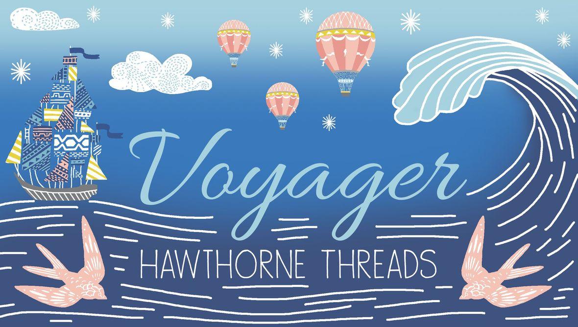 Voyager Fabric Logo