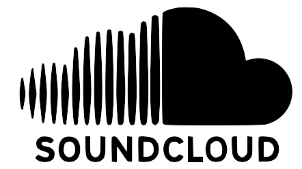 soundcloud logo black