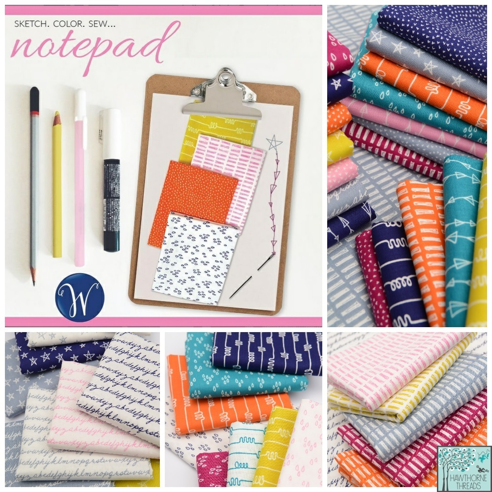 Notepad Fabric Poster