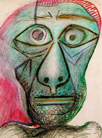 Picasso, autorretrato