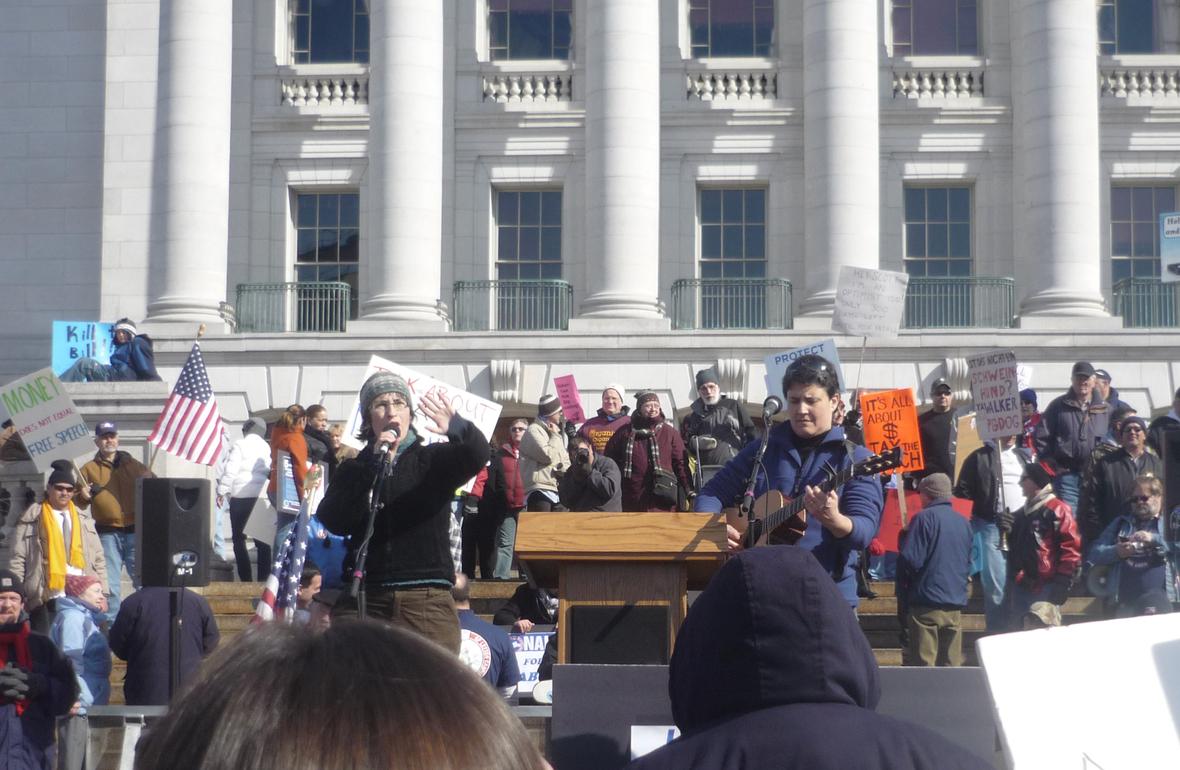 P1030131 Madison Anti-Scott-Walker Demos March 2011