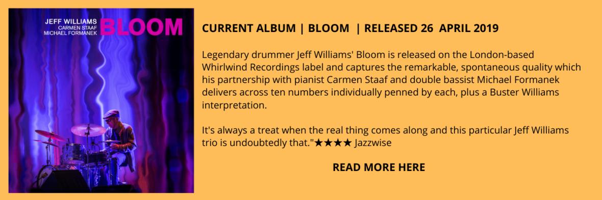 Jeff Williams Bloom New Releases E-BlastAMEND