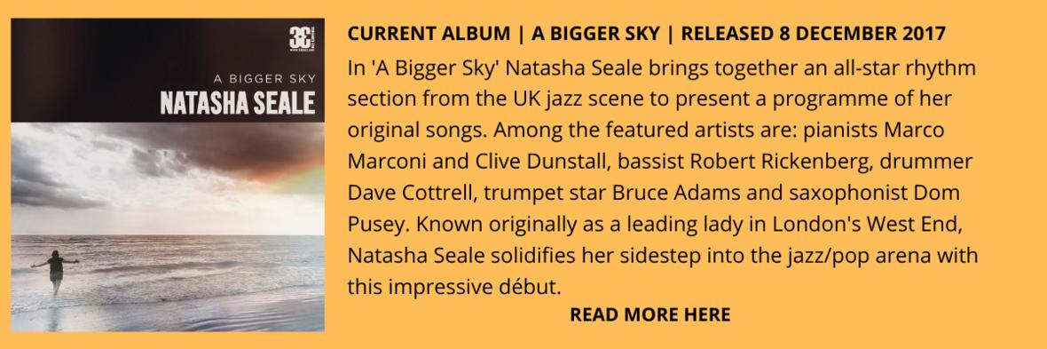 Natasha Seale Album Showcase E-Blast