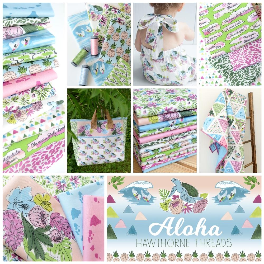 Aloha Fabric Poster