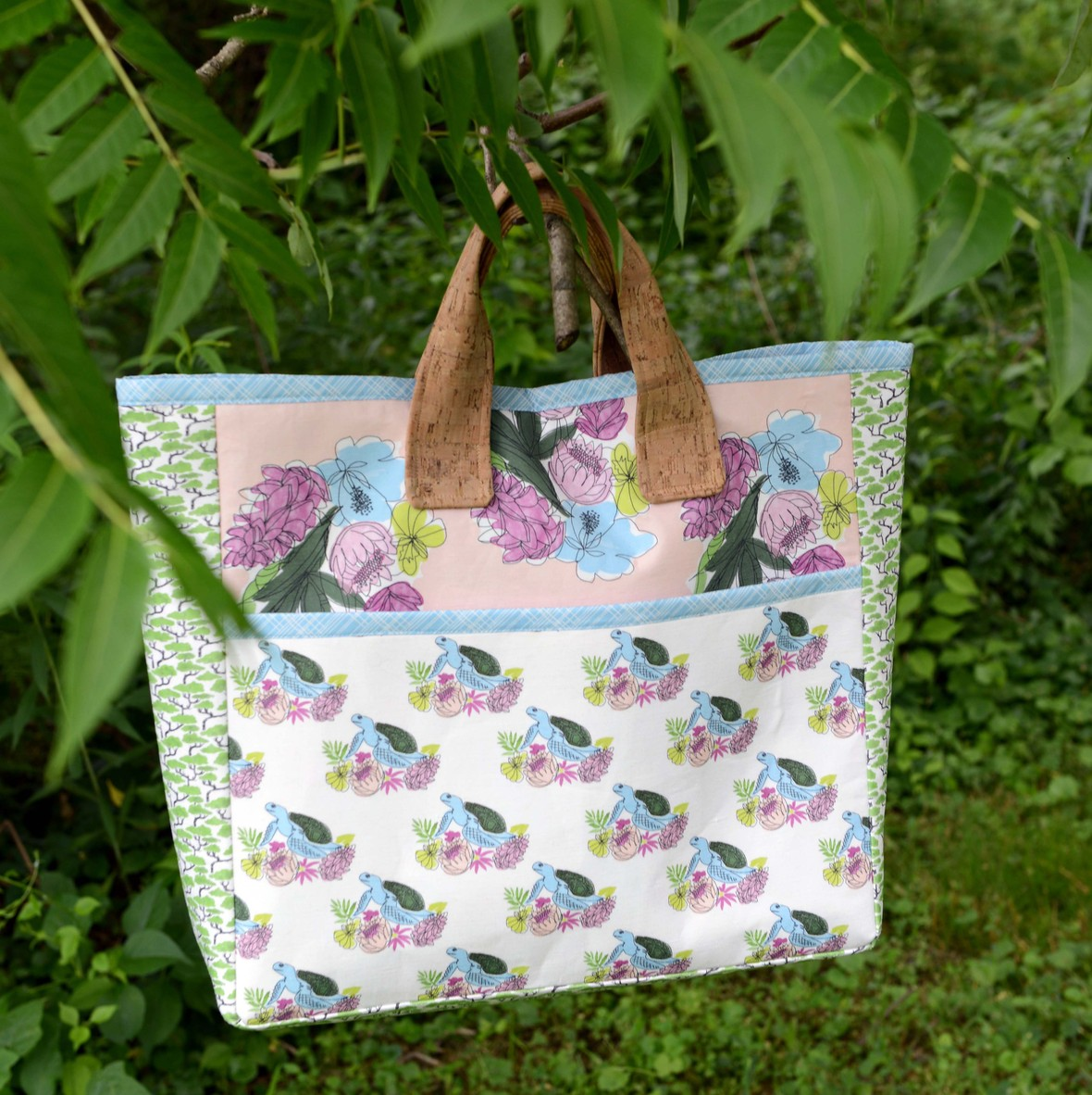 Aloha Fabric Canvas Bag