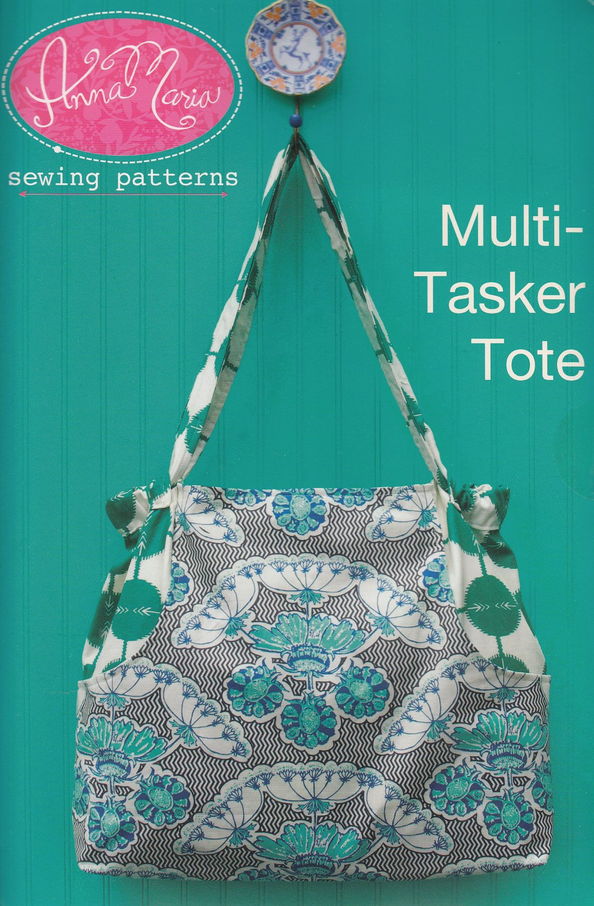 anna maria horner multi tasker tote pattern sewing pattern