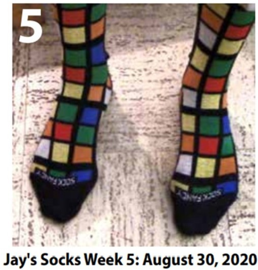 jays winning socks