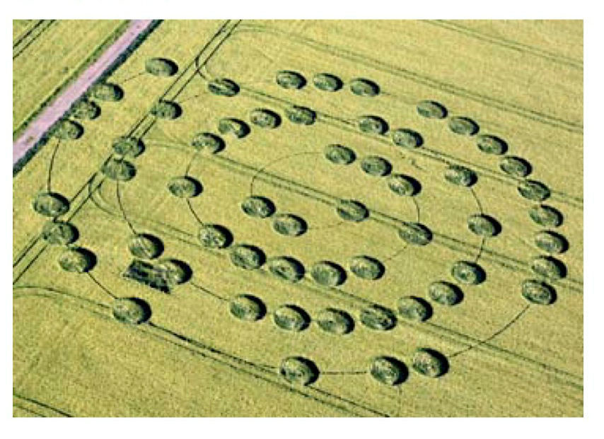 2007Yatesbury Crop Circle.Dropped