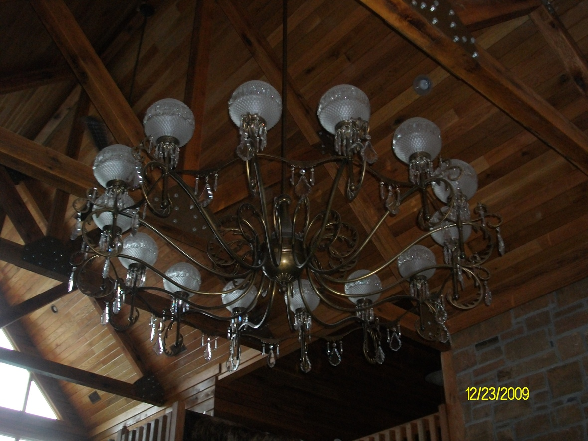 Lighting over Great Room
