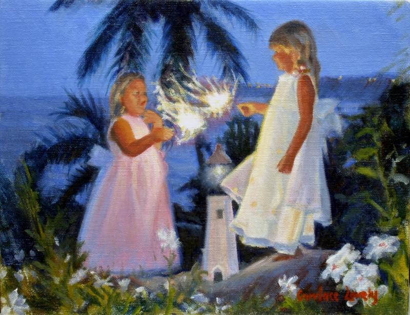 Fairy Garden Sparklers Study