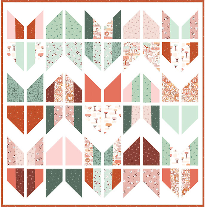 Suzy Quilts Tail Feather