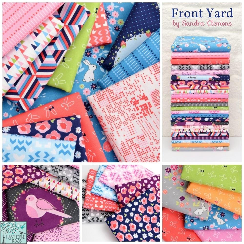 Sandra Clemons Front Yard fabric