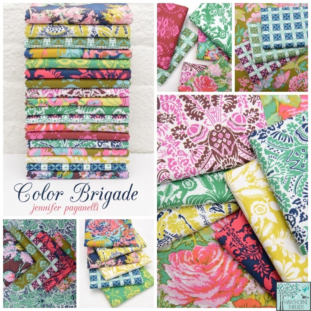 Color Brigade Fabric Jennifer Paganelli