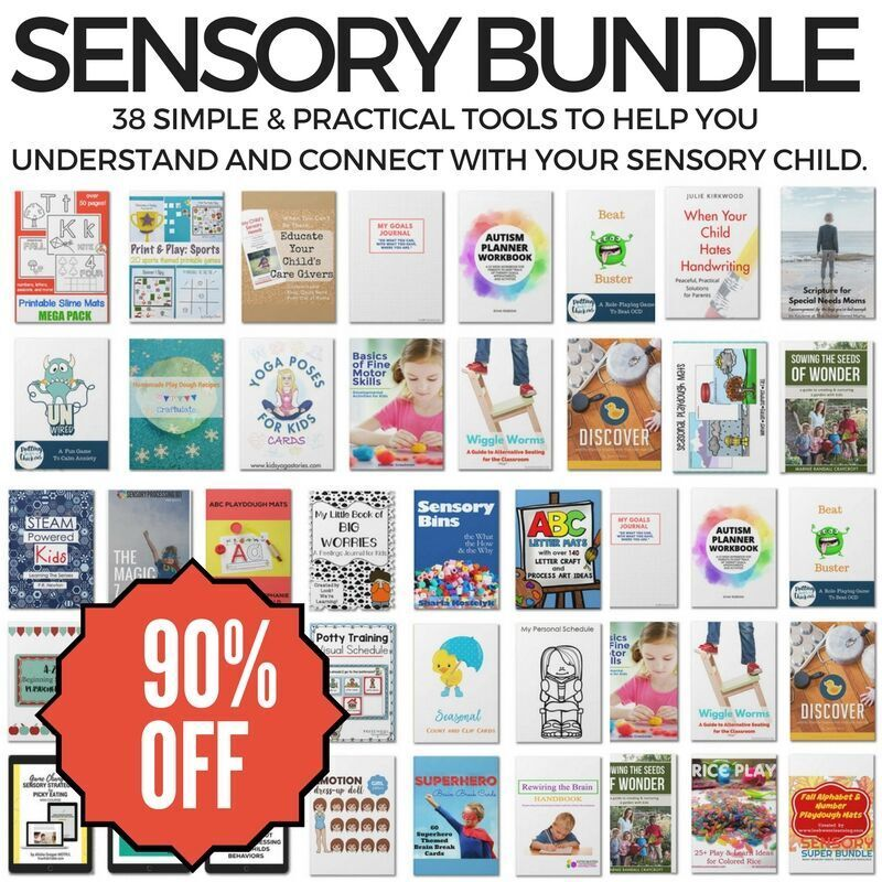 Sensory Bundle Base. 90 off