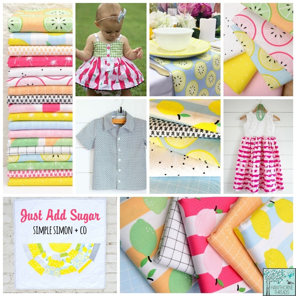 Just Add Sugar Fabric Poster
