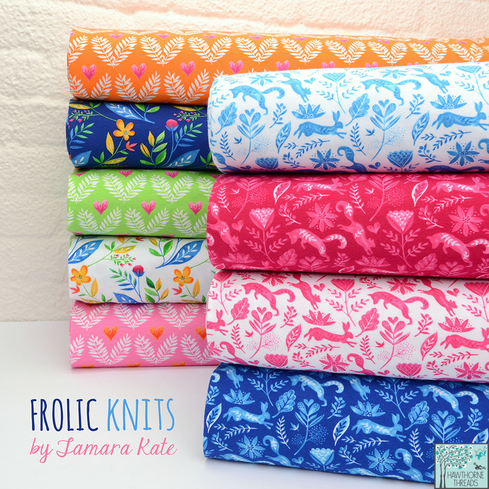 Frolic Knits Poster