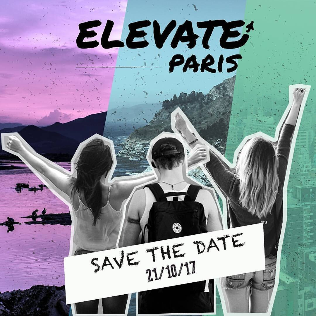 elevate save the date
