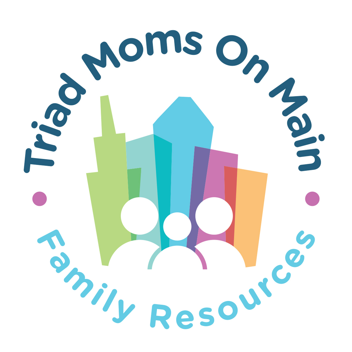 Triad Moms On Main Badge FIN