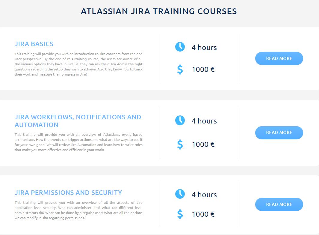 Jira Courses