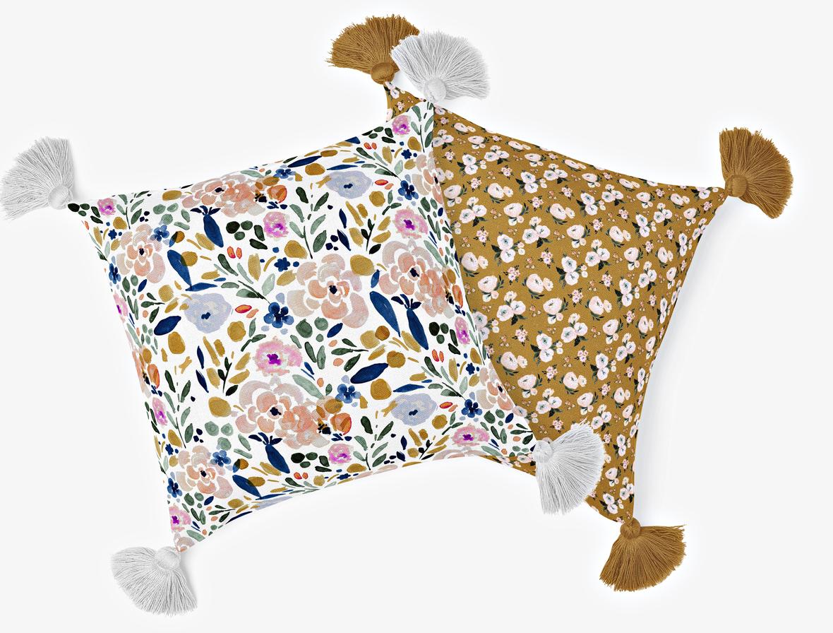 Fringe Pillow 3