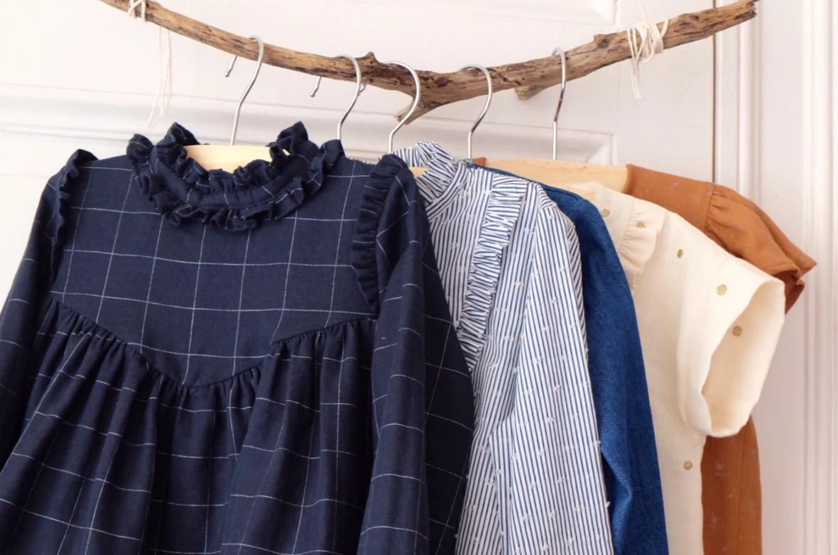 Screenshot 2020-09-23 LOUISE- blouse dress - Girl 3 12 - PDF Sewing Pattern