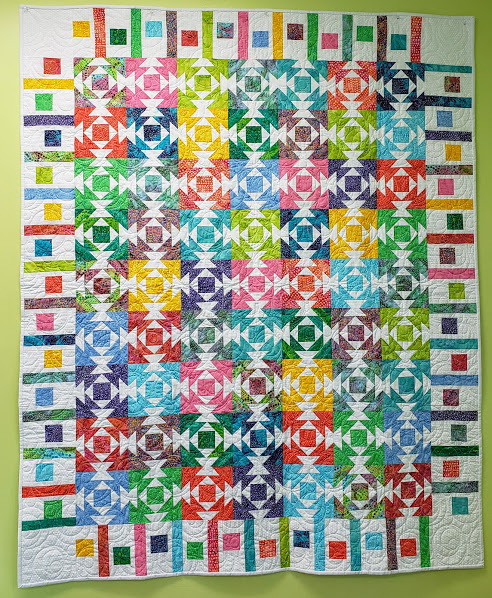 Bubbles Pineapple Quilt Marlyn