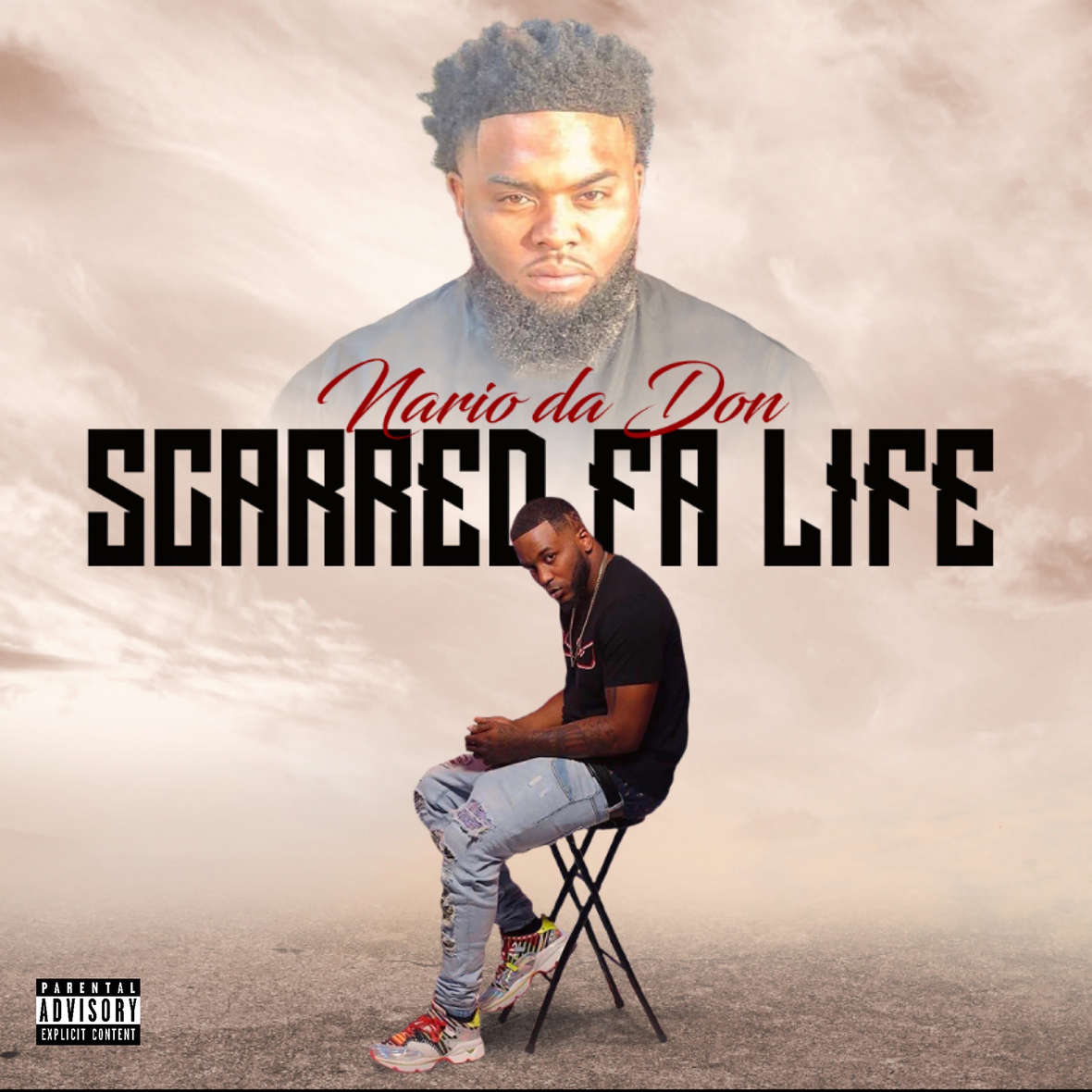 Scarred Fa Life Front dirty lrg